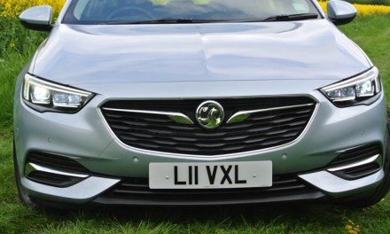 It's not all about the headlamps on the latest Vauxhall Insignia Grand Sport