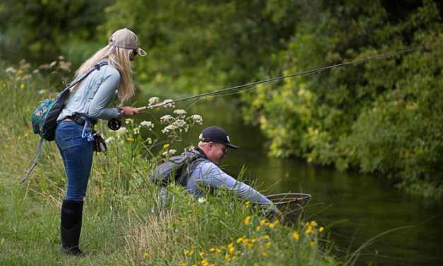 Casting the net wide for female anglers