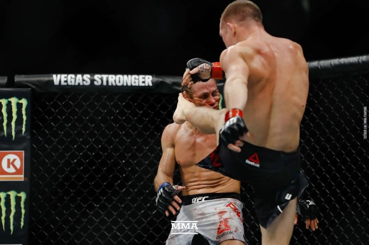 Urijah Faber Suffers Gruesome Injury Against Petr Yan at UFC 245 ...