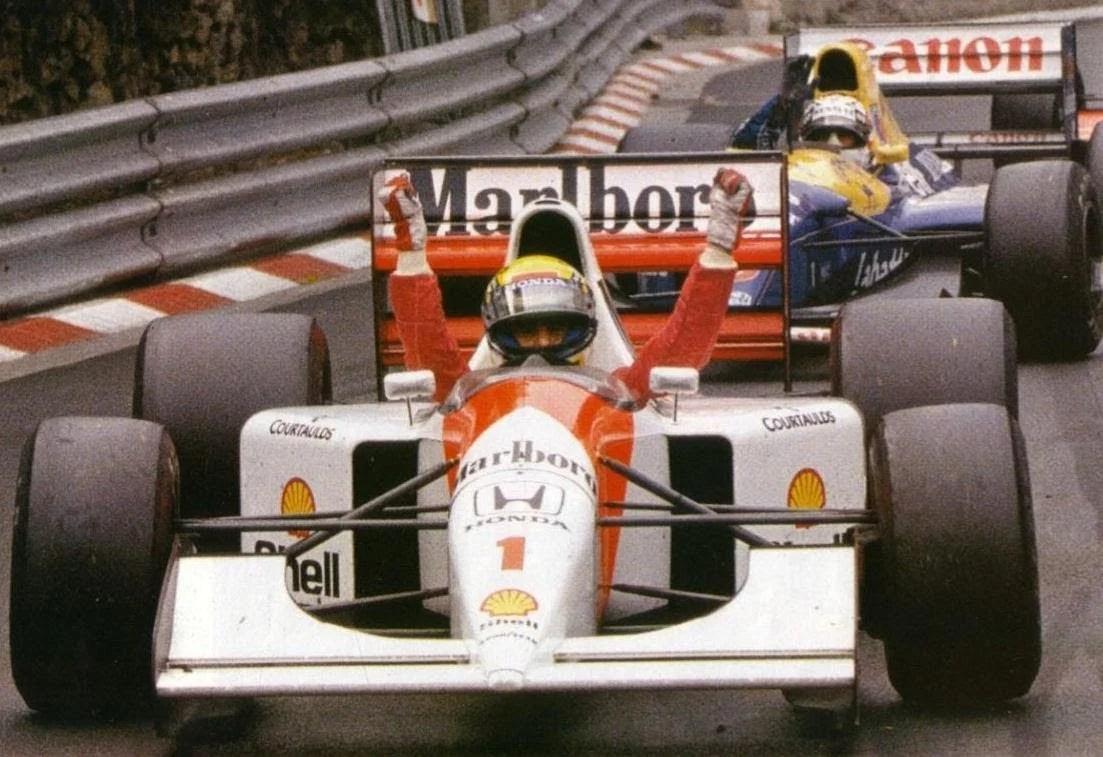 Image result for 1992 monaco grand prix patrese