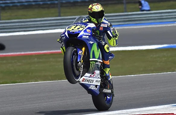 Valentino Rossi Signs New Two-Year Deal with Movistar Yamaha
