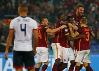 Roma v Genoa