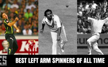 best left arm spinners