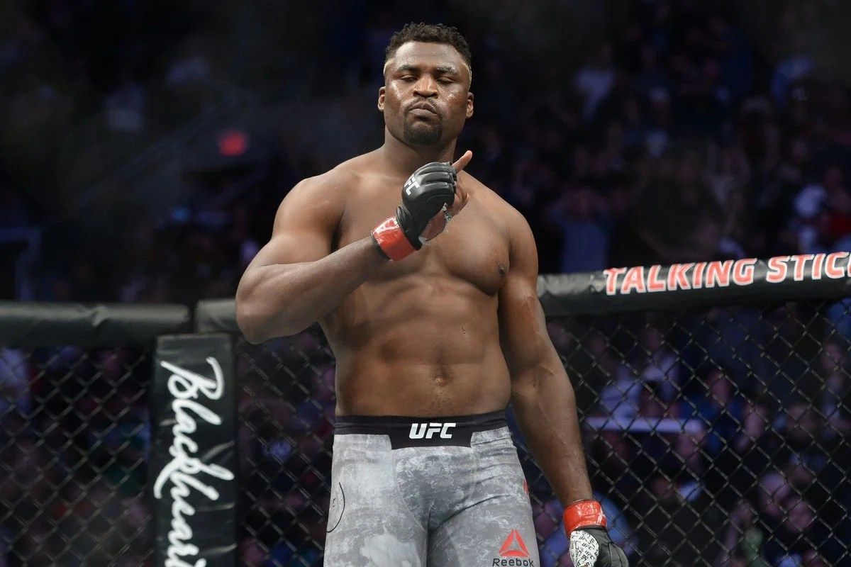 """They Should Honour Those Fighters"""" - Francis Ngannou Wants UFC to Debut in  Africa - EssentiallySports"""