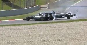 Hamilton-Rosberg collision
