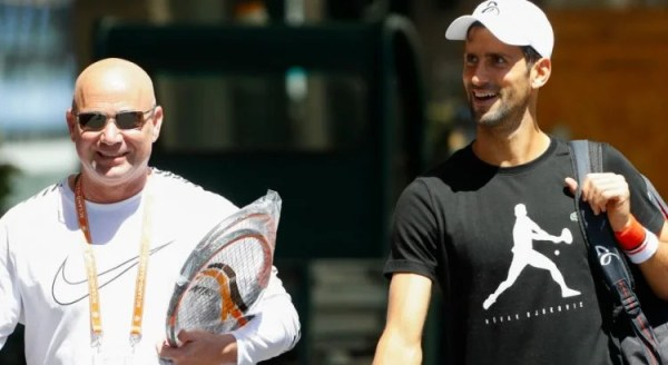 """I Will Internally Be Grateful to Andre Agassi"" - Novak Djokovic"