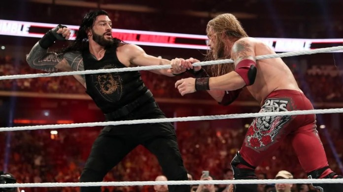 Edge Vs Roman - Rollins Piece
