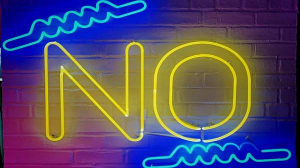 "Why you should practice saying ""no"""