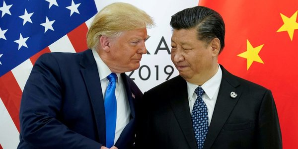 United States President Donald Trump and China President Xi Jinping