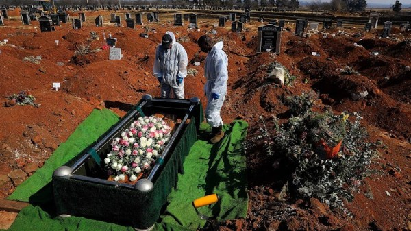 South Africa Covid-19 deaths
