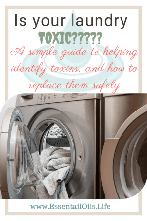 Dirty. Wash. Dry. Fold. Put away. Repeat. Doing laundry should be actually cleaning your clothes... but is it?? Or are you just swishing your clothes and linens around in a vat of toxic chemicals, and then wearing them? These chemicals may take a toll on your health...