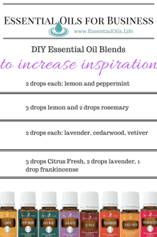 Need more inspiration?? These essential oil blends are perfect for inspiring you