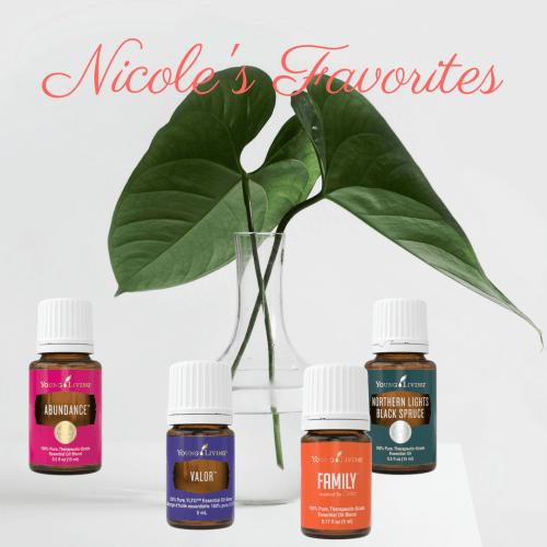 Nicole's favorite essential oils