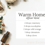 Warm Home DIY Diffuser Blend