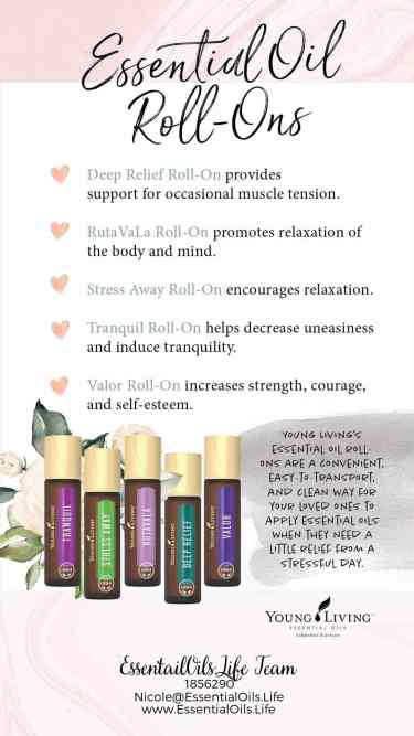 Essential oil roller bottles are perfect to keep on hand to make using essential oils easier and more convenient.  When you feel good, you're more likely to feel like indulging  in spending quality time with your partner (or engaging some much-needed self-care)...