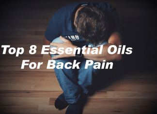 Top 8 essential Oils For Back Pain