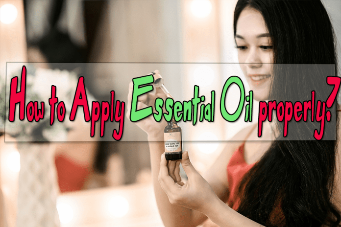 How to apply coconut essential oil properly?