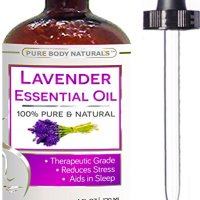 BEST Lavender Oil - 100 % NATURAL Premium Quality Bulgarian Huge 4 oz with Dropper - Lavender Essential Oil Uses, Treats Stress, Anxiety, and Depression - Lavender Oil Benefits, Ideal for Massages, Aromatherapy, Sleep Aid, Alleviating Headaches, and Migraine Relief - Lavender Oil for Skin, Moisturizes, Slows Aging, Improves Complexion and Eczema - 100% Pure Therapeutic-Grade Premium Lavender Oil