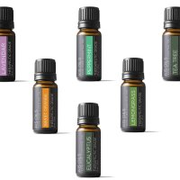 Kis Oil'S Top 6 Therapeutic Grade Essential Oil Gift Set, 10 ml (Lavender, Tea Tree, Eucalyptus, Lemongrass, Orange, Peppermint)