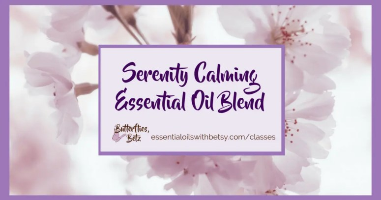 Serenity Calming Essential Oil Blend | Serenity oil