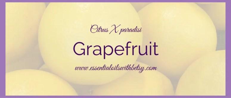 Grapefruit essential oil uses doTERRA