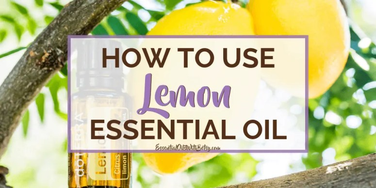 doTERRA Lemon Essential Oil