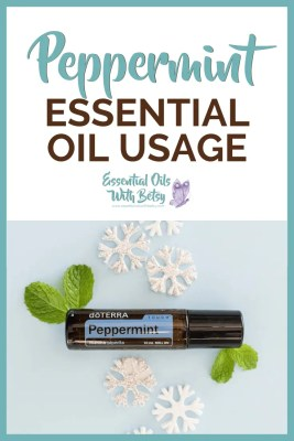 doTERRA Peppermint Essential Oil Usage Ideas