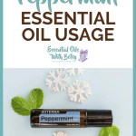 doTERRA Peppermint Essential Oil Usage Ideas