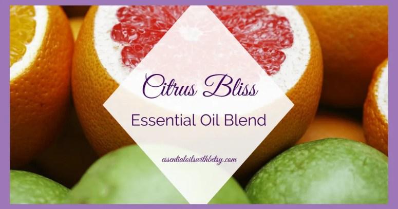 doTERRA Citrus Bliss essential oil blend