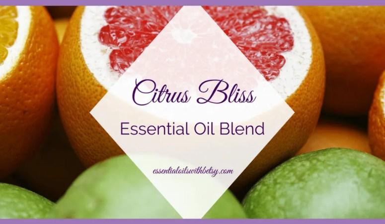 doTERRA Citrus Bliss Invigorating Blend