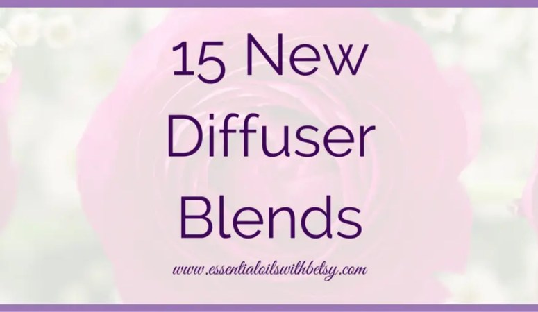 15 Brand New Diffuser Blends