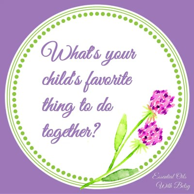 Journal Prompt 17: What's your child's favorite thing to do together?