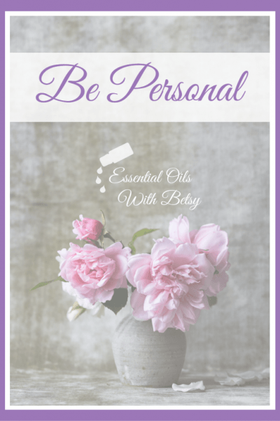"""Sharing essential oils tips. Set aside a time to talk together. This does not have to take long, so don't let this step trip you up. The point is just to connect personally, so that they will feel assured. You are the best person for them to share their goals with as they start this incredible new journey! Various wellness goals can be frightening for many people, and it is reassuring for them to share that time with you. Spending just 10-15 minutes to be personal takes out the """"I'm selling you something and this feels sleazy factor"""" completely. And since they are your friend or family member, you're probably going to be hanging out anyway!"""
