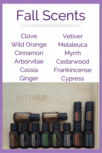 Would you enjoy creating your own diffuser blend for fall? Try your hand at it with a combination of the following oils. Be sure to come on over to Exploring Essential Oils and share your combinations! As always, I will be excited to see what everyone comes up with. Earthy Oils: Arborvitae Cedarwood Frankincense Vetiver Melaleuca Myrrh Woodsy Oils: Cypress Douglas Fir Spice Oils: Cassia Cinnamon Clove Ginger Wild Orange