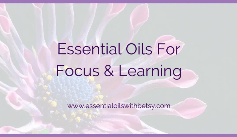Learning Blend For Diffuser & DIY Roller Bottle