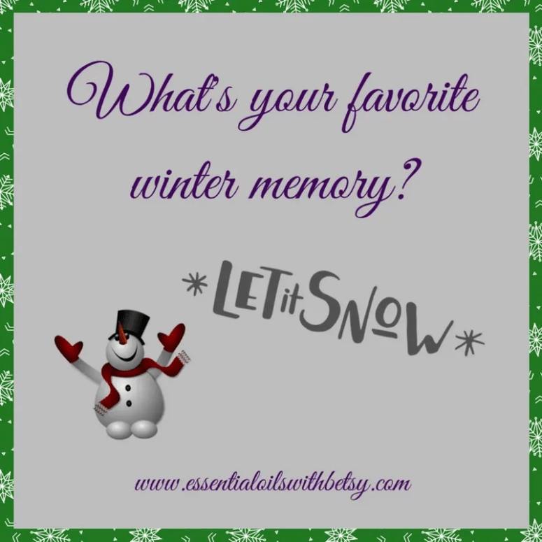 What's your favorite winter memory?
