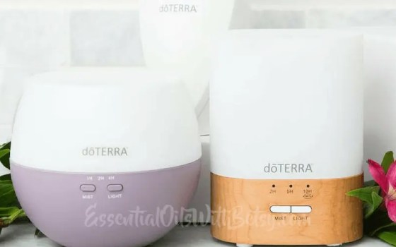 Choosing the best doTERRA diffuser for you and your family