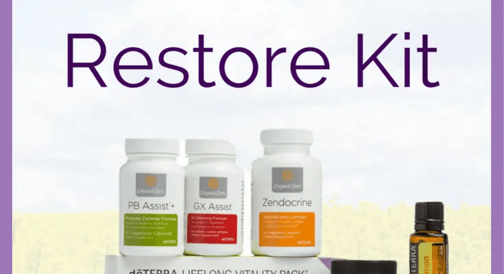 doTERRA Cleanse Restore Kit doTERRA Cleanse Restore kit offers a unique enrollment option for those starting out with a doTERRA cleanse. Choose this kit if you'd like to jump-start your health and wellness plan with a feeling of starting out fresh with a cleanse. Should I enroll with a doTERRA Cleanse Restore Kit?