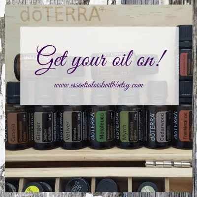 Get your oil on!