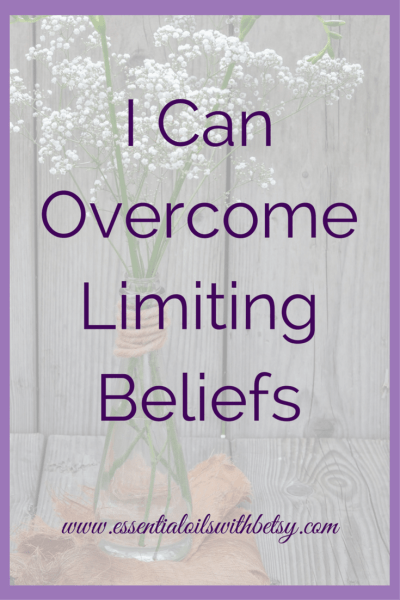 "I Can Overcome Limiting Beliefs Say this to yourself. ""I can overcome limiting beliefs."" To overcome limiting beliefs will take time. The journey won't be easy. It starts with two of the most powerful words in the English language. ""I can"". Mired In Limited Belief Many of us have found ourselves ""stuck"" at some point. Mired down with a limited belief. A limited belief means your mindset tells you something isn't possible."