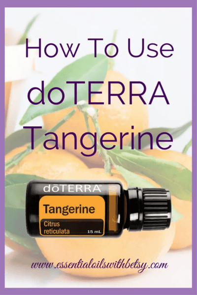 doTERRA Tangerine Essential Oil Uses doTERRA Tangerine essential oil is helpful for positive mood. It is calming and uplifting emotionally. You can even cook with doTERRA Tangerine oil as a healthy flavoring agent! What is your favorite way to use this lovely citrus oil? Use for emotional balance, healthy immune system, or the skin. How Do I Use Tangerine Oil?