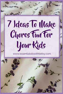 Many of us have young or elementary school-aged children who will be home for the summer.  How are we going to keep them busy?  At our house,  my kids help with little jobs to keep busy!  My kids love helping out around the house.  Want to know the secret sauce to that statement?  You can make chores fun for young children.  Here are 7 ideas that I use to make chores fun for the whole family.
