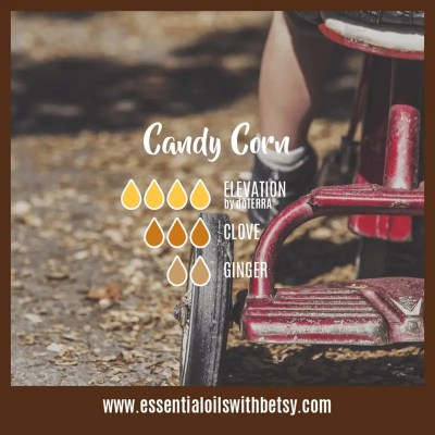 Candy Corn Essential Oil Diffuser blend : Elevation, Clove, Ginger