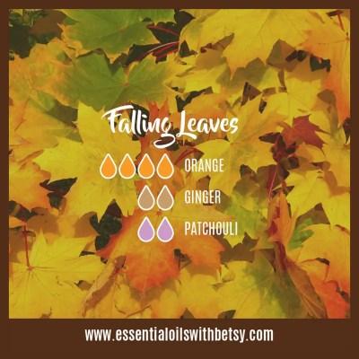 Falling Leaves: Orange, Ginger, Patchouli