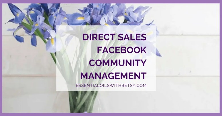 Direct Sales Facebook Community Management Direct sales Facebook community management can be discouraging. I'm just going to say that up front. And then I'm going to tell you why being a success with your direct sales Facebook group is about your mindset, and your every day choices. Your Choices WithDirect Sales Facebook Community Management You get to choose whether to show up, and be consistent on your social platforms. And you choose to have a good attitude and keep going, keep trying new things - or not. That's really the bare bones of a successful Facebook group. Use good content, show up daily with a good attitude, and keep showing up whether anyone else does or not. Because eventually they WILL show up, too.