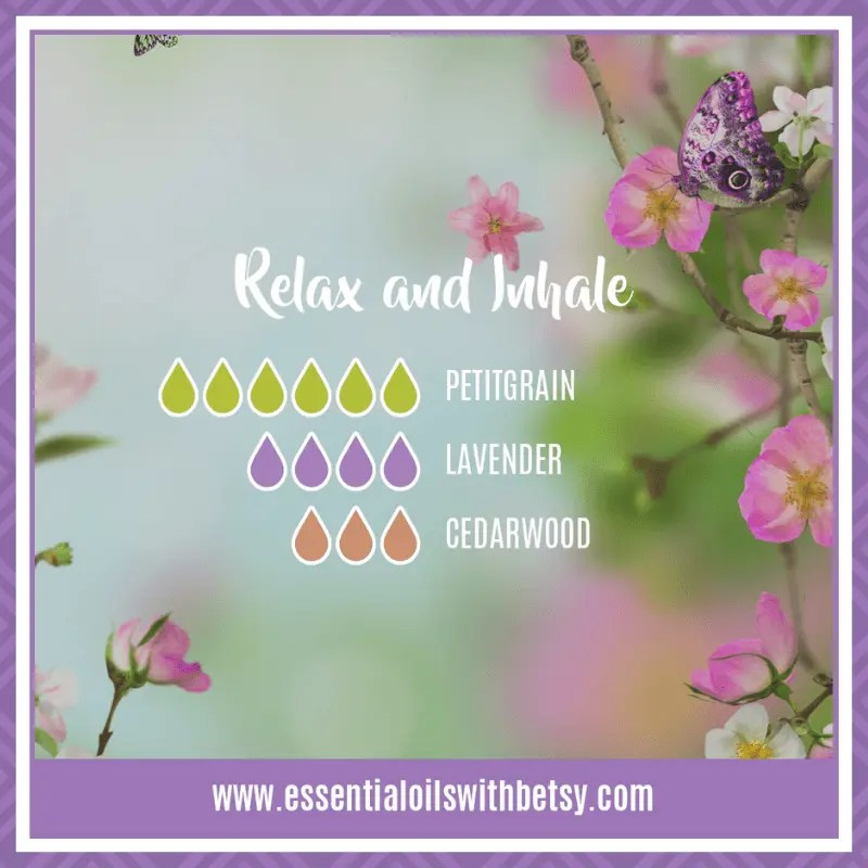 Relax and Inhale Diffuser blend