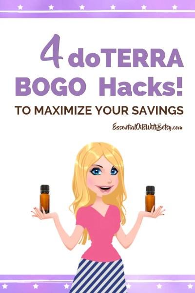 doTERRA BOGO Savings Hacks