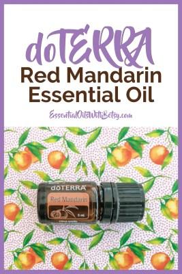doTERRA Red Mandarin essential oil uses