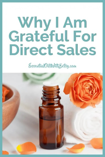 Why I Am Grateful For Direct Sales