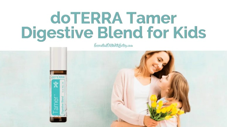 This blog post is all about doTERRA Tamer Digestive oil for your kids. Tamer is a brand new essential oil blend in the new doTERRA kids line for digestive comfort.